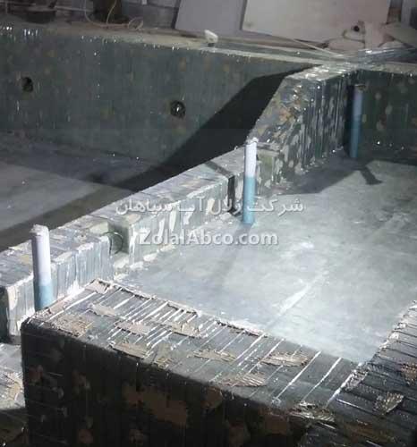 استخر پیش ساخته فایبرگلاس