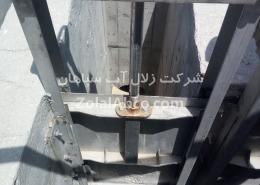 دریچه آب بند یا همان دریچه کشویی Sluice gate برای کنترل ورود و خروج آب و فاضلاب در تصفیه خانه و استخر قابل استفاده است